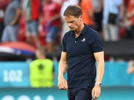 OFFICIAL: Netherlands manager Frank de Boer has been SACKED after their exit of Euros